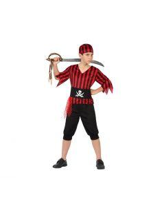 Disfraz de Pirata Rayas Niño Tienda de disfraces online - venta disfraces