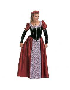 Vestidos de mujer en la edad media
