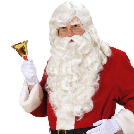 Peluca y Barba Larga Papá Noel