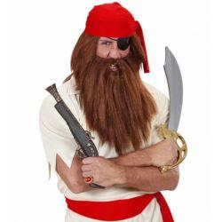 Barba y Bigote Vikingo en Rubio