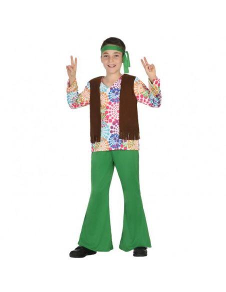 Disfraz Hippie psicodélico para niño Tienda de disfraces online - venta disfraces