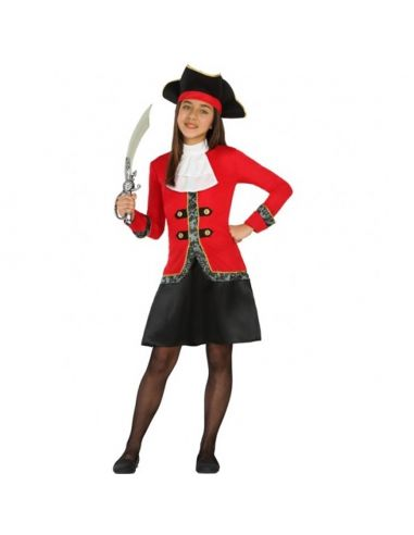 Disfraz Pirata o Capitana para Niña Tienda de disfraces online - venta disfraces