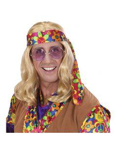 Peluca hippie Rubia Tienda de disfraces online - venta disfraces