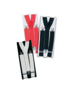Tirantes en Rojo, Negro o Blanco Tienda de disfraces online - venta disfraces