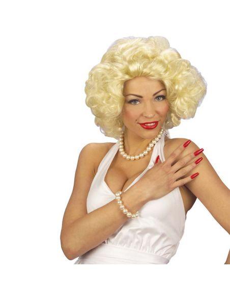 Peluca Marilyn Tienda de disfraces online - venta disfraces
