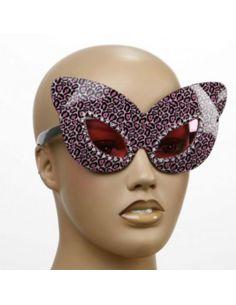 Gafas leopardo rosa Tienda de disfraces online - venta disfraces