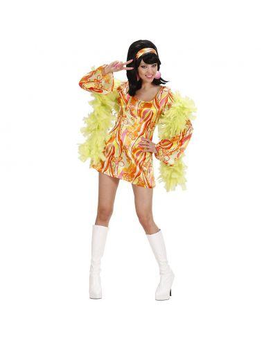 Disfraz Mujer Años 70 Talla XL Tienda de disfraces online - venta disfraces