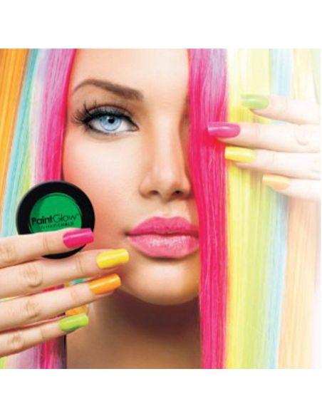 Tiza de Pelo Brillo Neon UV  Tienda de disfraces online - venta disfraces