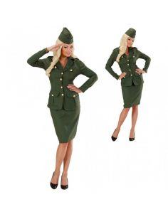 Disfraz Soldado WW2 para chica en XL Tienda de disfraces online - venta disfraces