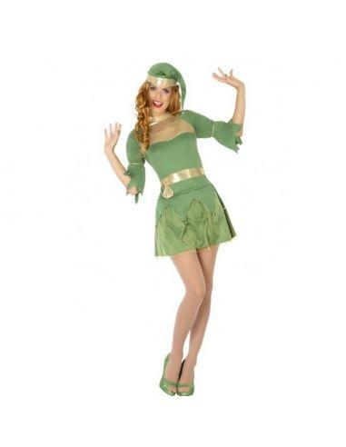 Disfraz de Gnomo o Elfo para chica