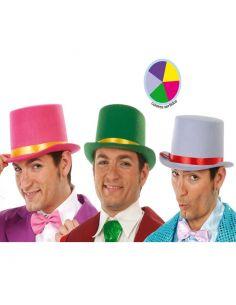 Chistera Fieltro Colores Surtidos Tienda de disfraces online - venta disfraces