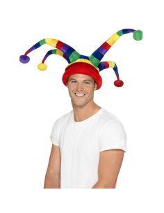 Sombrero de Bufón Multicolor Tienda de disfraces online - venta disfraces