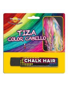 Tiza para colorear el cabello en color Negro Tienda de disfraces online - venta disfraces