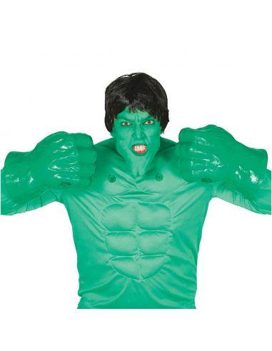 Puños Hulk Verdes Tienda de disfraces online - venta disfraces