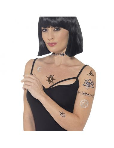 Tatuajes Transfer Horror Tienda de disfraces online - venta disfraces
