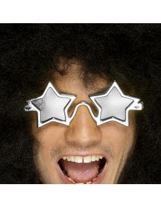 Gafas de Estrella Plateada Tienda de disfraces online - venta disfraces