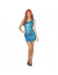 Disfraz Disco Azul para mujer Tienda de disfraces online - venta disfraces