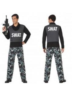 Disfraz Policía Swat para hombre Tienda de disfraces online - venta disfraces