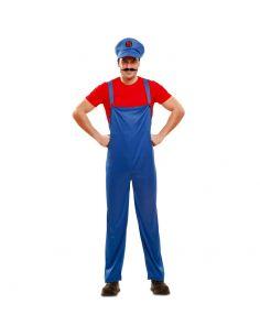 Disfraz Super Plumber Mario Rojo Tienda de disfraces online - venta disfraces