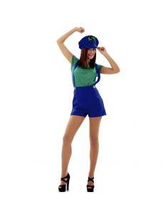 Disfraz Super Lady Verde Tienda de disfraces online - venta disfraces