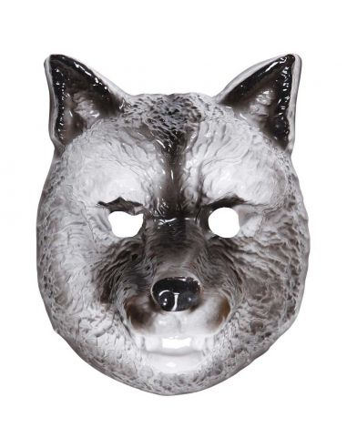 Máscara de Lobo de plástico Tienda de disfraces online - venta disfraces