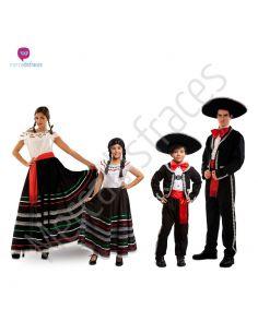 Disfraces para Grupos mejicanos