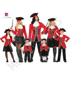Disfraces para grupos de Piratas baratos