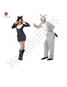 Disfraces para grupos de Lobos baratos