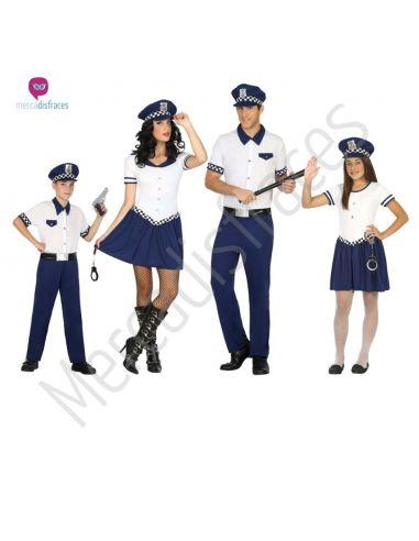 Disfraces para grupos de Policias baratos Tienda de disfraces online - venta disfraces