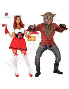 Disfraces divertidos de Caperucita y Lobo para grupos