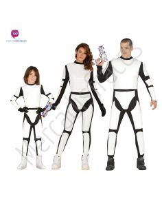 Disfraces divertidos de Soldados Espaciales para grupos
