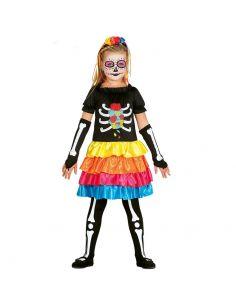 Disfraz Skeleton para niña Tienda de disfraces online - venta disfraces