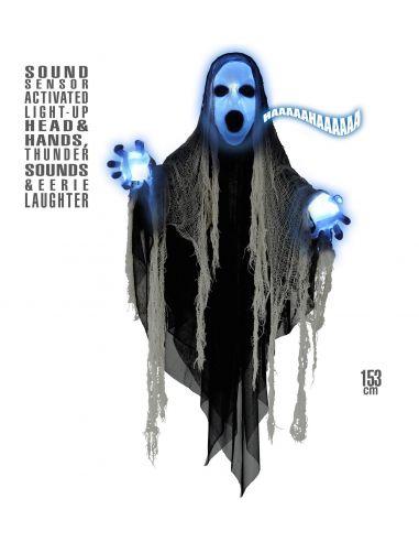 Sinister Reaper con cabeza y manos luminosa Tienda de disfraces online - venta disfraces