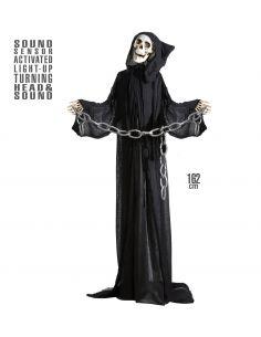 La muerte animada con cabeza giratoria Tienda de disfraces online - venta disfraces
