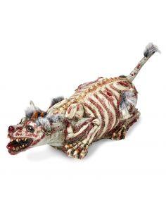 Perro Zombie con pelo Tienda de disfraces online - venta disfraces