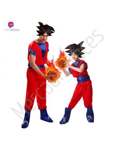 Disfraces de Carnaval de Goku para grupos
