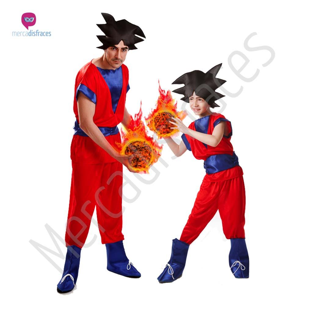 Disfraces de Carnaval de Goku para grupos  76560fbd4b8f