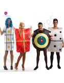 Disfraces de Carnaval de Juegos de Mesa para grupos