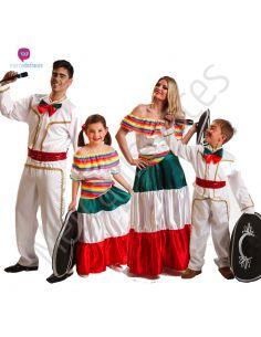 Disfraces de Carnaval de Mejicanos para grupos