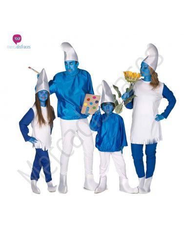 Disfraces de Carnaval de Pitufos para grupos