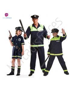 Disfraces de Carnaval de Policias para grupos Tienda de disfraces online - venta disfraces