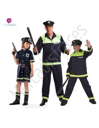 Disfraces de Carnaval de Policias para grupos