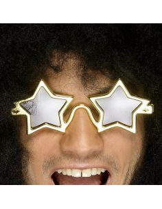 Gafas de Estrella Dorada Tienda de disfraces online - venta disfraces