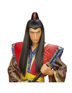 Peluca Samurai Tienda de disfraces online - venta disfraces