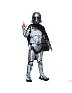 Disfraz Capitán Phasma Deluxe Infantil Tienda de disfraces online - venta disfraces