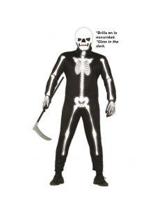 Disfraz de Esqueleto Luminoso Tienda de disfraces online - venta disfraces