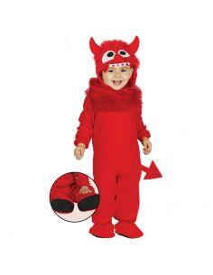 Disfraz Monstruo Rojo para Bebe Tienda de disfraces online - venta disfraces