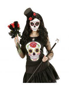 Camiseta Calavera Mexicana Tienda de disfraces online - venta disfraces