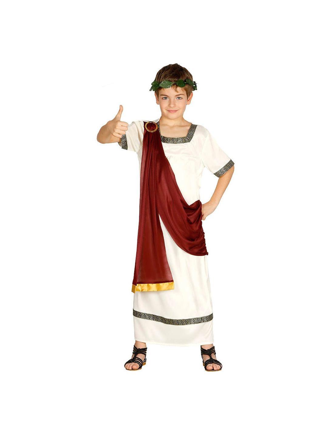 Resultado de imagen de disfraz griego niño