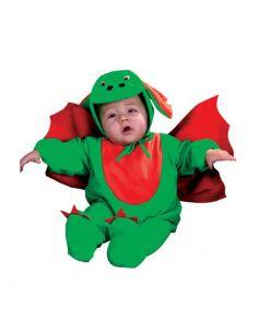 Disfraz Dragoncito Verde Bebe
